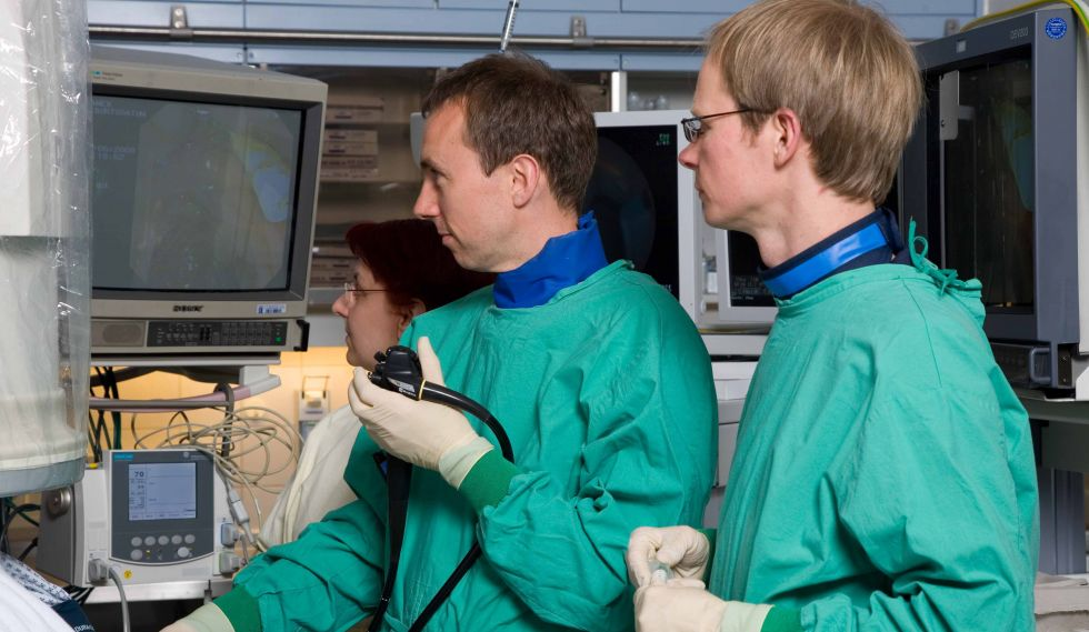 Prof. - Stefan Zeuzem - Klinikum der Johann Wolfgang Goethe-Universität - Untersuchung