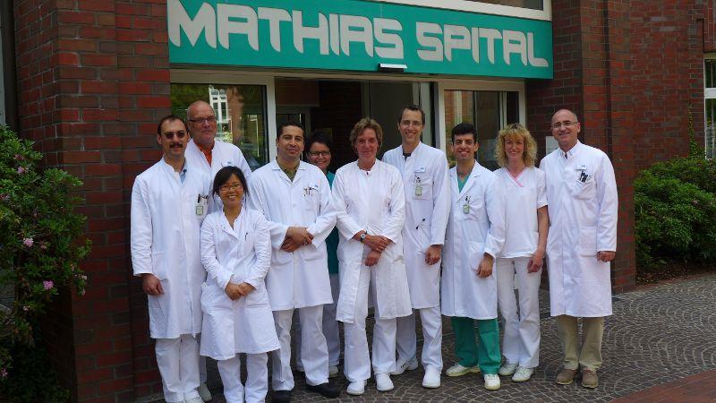Prof. - Gerd Rudolf Lulay - Gesundheitszentrum Rheine: Mathias Spital  - Team