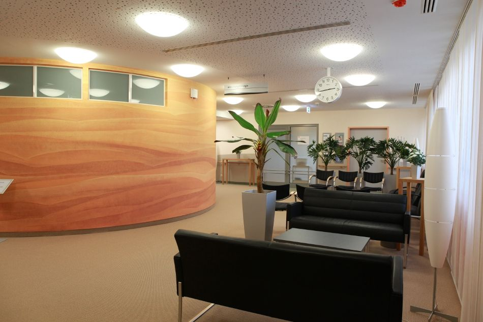 Prof. - Karl-Dieter Heller - Herzogin Elisabeth Hospital - Wartezimmer