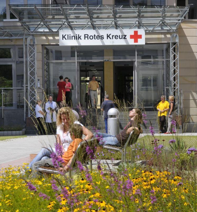 Prof. - Jürgen Haase - Kardiocentrum Frankfurt an der Klinik Rotes Kreuz - Eingang