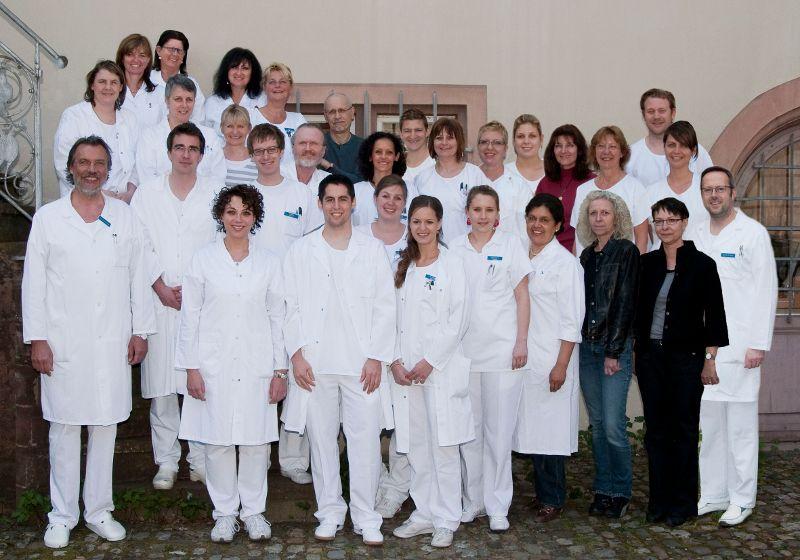 Prof. - J. Thomas Lambrecht - Universitätskliniken für Zahnmedizin - Team