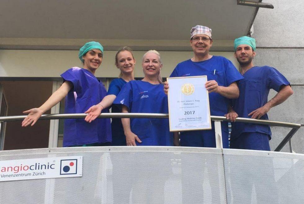 Dr. - Johann C. Ragg - angioclinic® Venenzentrum Zürich