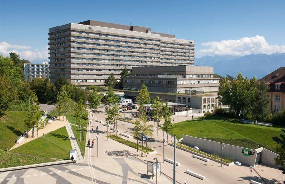 Prof. - Jean-Marc Corpataux - Centre hospitalier universitaire vaudois (CHUV) - Außenansicht