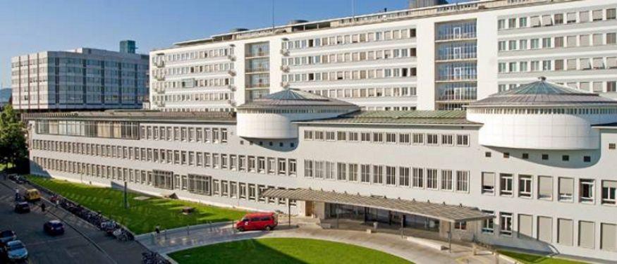 Prof. - Michael Tamm - Universitätsspital Basel - Außenansicht