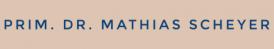 Privatordination Prim. Dr. Mathias Scheyer - Viszeralchirurgie - Feldkirch