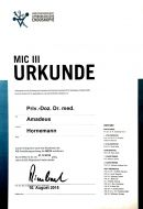 MIC III-Qualifikation